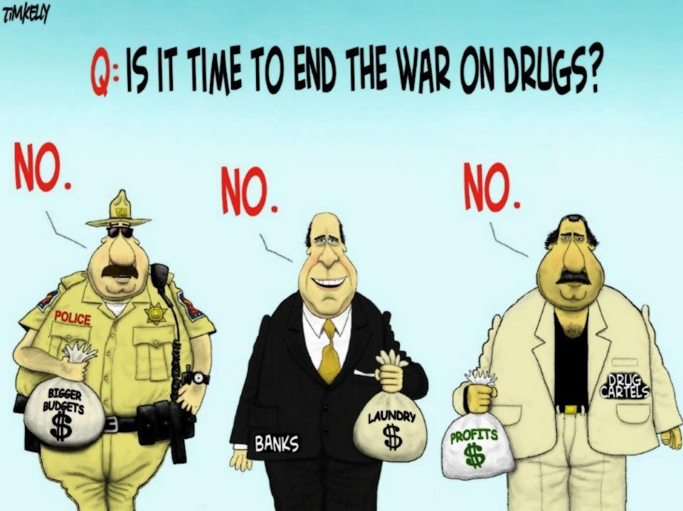 an analysis of legalizing drugs as the way to winning the drug war
