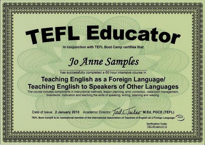 analysis of teaching material tesol